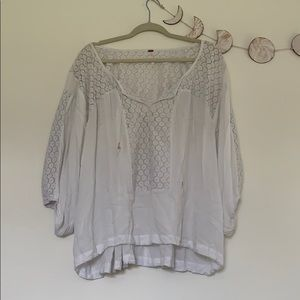 Free People • peasant top